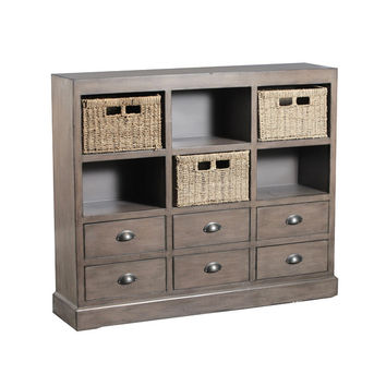Powell  Currituck Driftwood Console