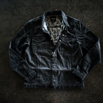 Krew District Jacket - Black Fade