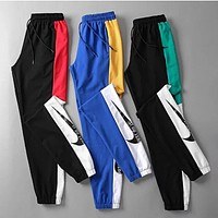 NIKE New Fashion Women Men Casual Print Drawstring Sport Pants Trousers Sweatpants