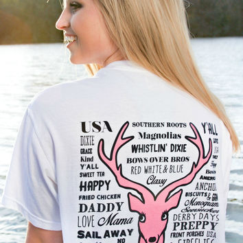 Jadelynn Brooke Happy Definition Tee