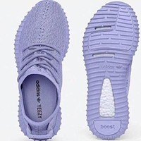 """Adidas"" Yeezy Women's Classic Trendy Sports Running Shoes F Purple"