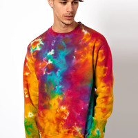 Vintage Sweat with Tie-Dye Sweat