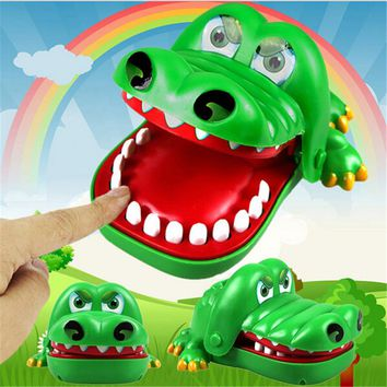 20176 New Funny Toy Gift  for chilrden Large Crocodile Mouth Dentist Bite Finger Game LA872843