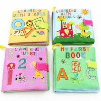 4 Style Baby Books Educational Toy