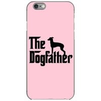 the dogfather italian greyhound iPhone 6/6s Case