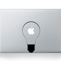 Light--Macbook Decal Mac book Stickers Macbook Decals Apple Decal for Macbook Pro / Macbook Air / iPad / iPad2 / ipad3/ iPhone 4/4S