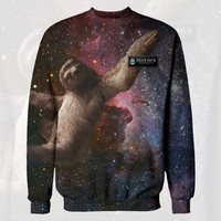 Stay Sick Clothing - Space Sloth Crewneck