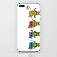 TMNT Chibis iPhone & iPod Skin by Katie Simpson | Society6