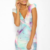 Sky Blossom Dress - Print