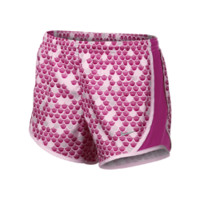 Nike Tempo Graphic Girls' Shorts - Arctic Pink