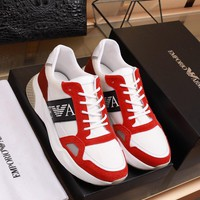 Armani   Men 2020 New Fashion Casual Shoes Sneaker Sport Running   Shoes