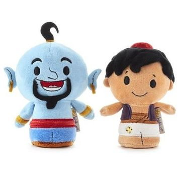 Hallmark itty bittys Disney Aladdin and Genie Stuffed Animals, Set of 2