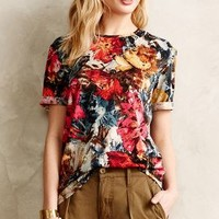 Verona Blouse by Anthropologie Black Motif