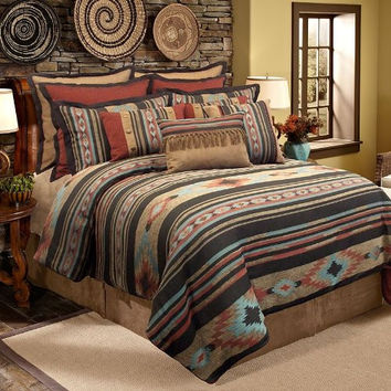 VERATEX Santa Fe Comforter Set, Full