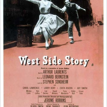 West Side Story 11x17 Broadway Show Poster (1957)