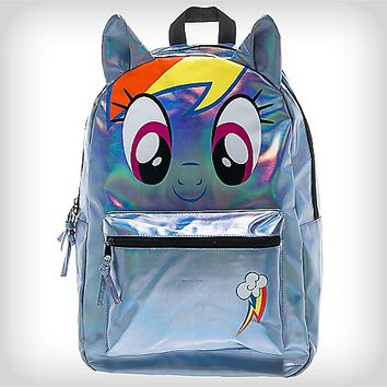 Big Face Rainbow Dash My Little Pony Backpack - Spencer's