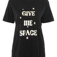 PETITE Foil Space T-shirt - T-Shirts - Clothing