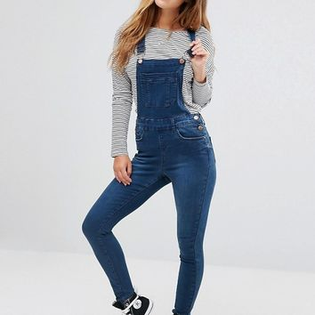 New Look Petite Overalls at asos.com