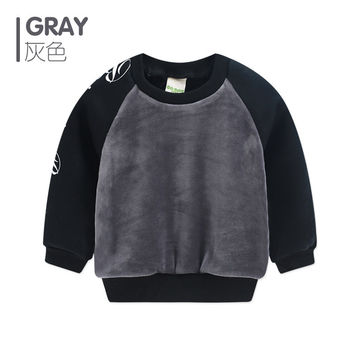 T-shirts For Boys Children Top Birthday Boy New Fashion Boys Clothes Toddler Shirt Infant Warm Print Letters Windproof 2016