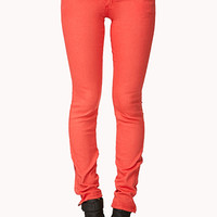 Colored Zip Skinny Jeans | FOREVER 21 - 2072929616