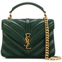 Saint Laurent Monogram Collège Satchel - Farfetch