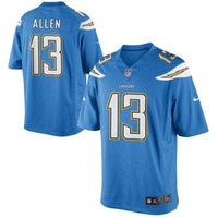 Authentic Nike NFL 2017 Limited Edition Los Angeles Charger Keenan Allen Jersey