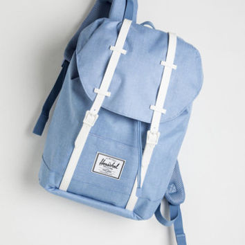 Minimal, Nifty Nerd, Travel, Scholastic Pack and Forth Backpack by Herschel Supply Co. from ModCloth