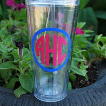 20 oz Insulated Acrylic Tumbler  Personalized by limetreegifts