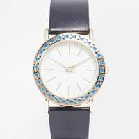 ASOS Geo Cut Out Case Watch at asos.com