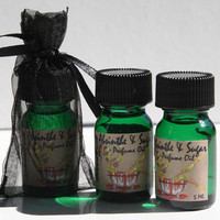 SALE Absinthe and Sugar Hand blended Artisan Perfume Oil 5 Ml