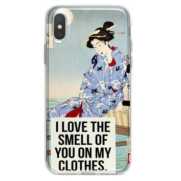 Smell of You iPhone XR case