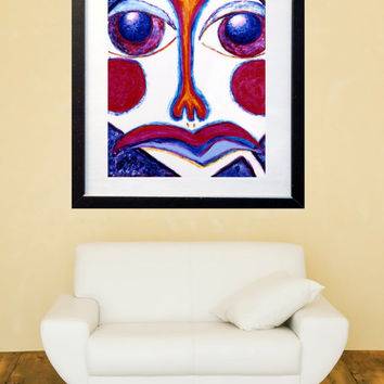 Original Painting - Colorful Contemporary Painting 30 x 22 - Acrylic on Canvas Figurative Painting