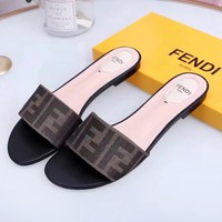 FENDI Newest Fashion Woman Casual Slipper Sandals Shoes