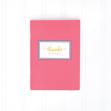 Emily Ley Mini Notebook - Thanks