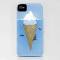 Hidden part of icebergs iPhone Case by Naolito | Society6