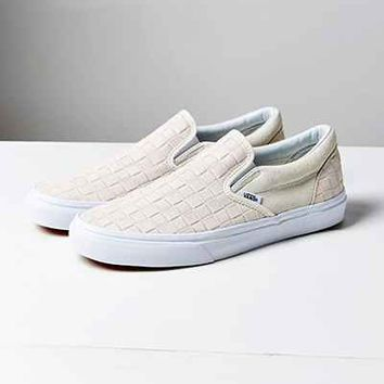 Vans Suede Checkers Slip-On Sneaker - Urban Outfitters