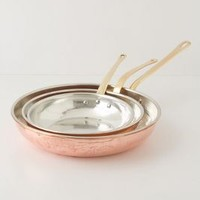 Ruffoni Copper Pan Set by Anthropologie in Copper Size: One Size Kitchen