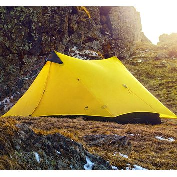 Ultralight 2 Person Professional Rodless Tent