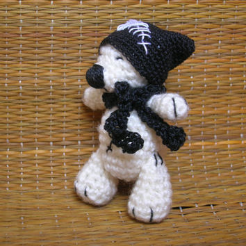 Miniature tedy bear, Amigurumi bear, Crochet tedy bear, Small crochet bear, Little teddy bear, Small pet animal, Small bear, Mini bear