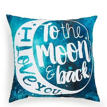 Galaxy Love Pillow