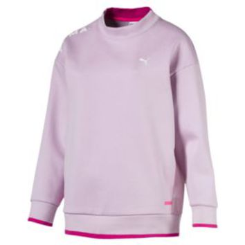 Chase Crew Neck Women's Sweatshirt | Winsome Orchid | PUMA Sale | PUMA United Kingdom