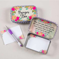Natural Life Cream & Roses Prayer Box