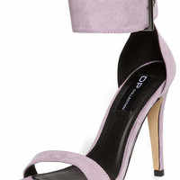 Lilac Green High Sandals