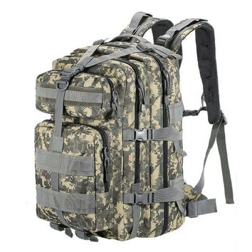 ONETOW 45L MOLLE Multifunction Military Rucksack Army Tactical Backpack Outdoor Sports Bag for Travel Camping Hiking Hunting Trekking