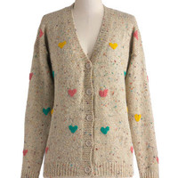 Love of Teaching Cardigan | Mod Retro Vintage Sweaters | ModCloth.com