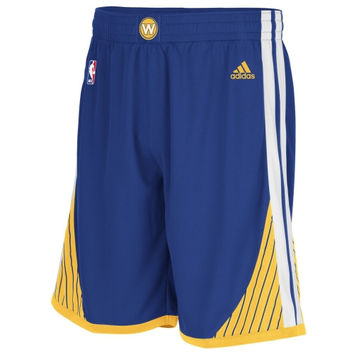 adidas Golden State Warriors Swingman Shorts - Royal Blue