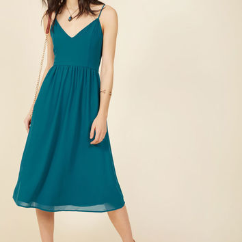 A Grace of One's Own Midi Dress