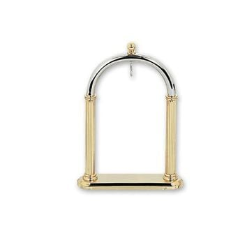 Charles Hubert 14k Gold-Plated Pocket Watch Holder Stand