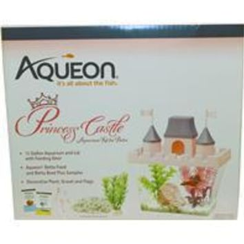 Aqueon Products - Glass - Princess Castle Betta Aquarium Kit