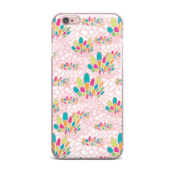 "Miranda Mol ""Blown Away"" Pink Multicolor iPhone Case"